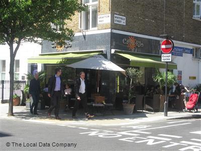 Cafe Rio Warren Street Menu